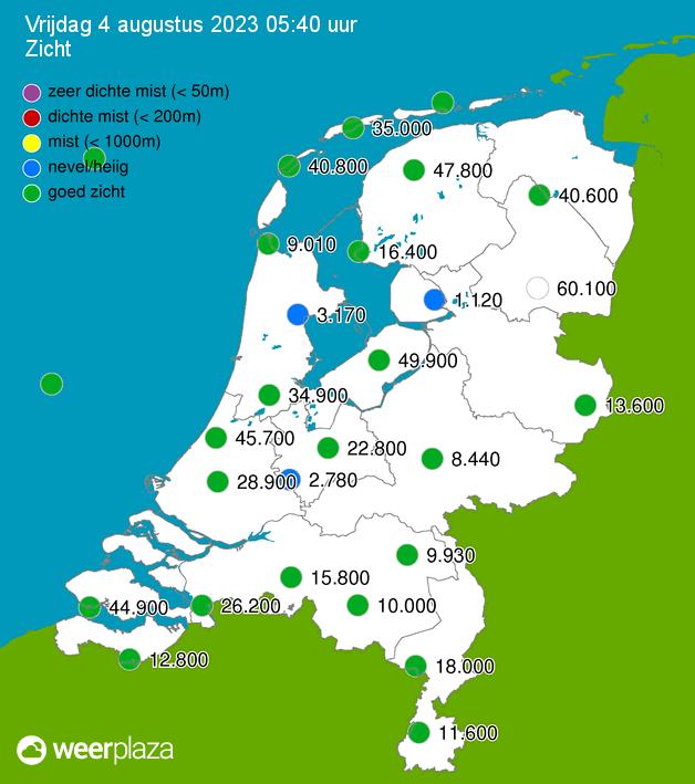 Klik voor actueel zicht in Nederland